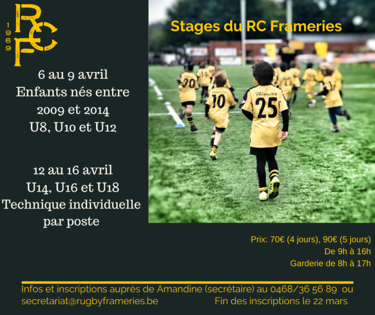 Stage Pâques